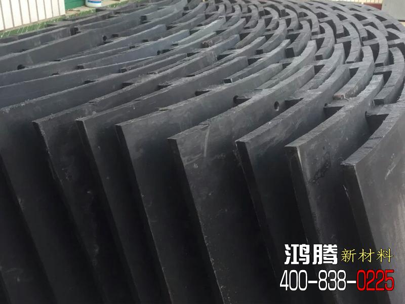 混料机斜筋端衬板(导料板)